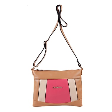 Club Rochelier Laurel Collection, Panelled Crossbody Bag