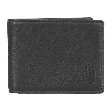 Club Rochelier Winston Collection, Black Leather Slim Mens Wallet (CRP354-2-BLK)