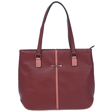 Club Rochelier Minimal Collection, Sunset Large Tote with Metallic Accents (DFCR164-SNST)