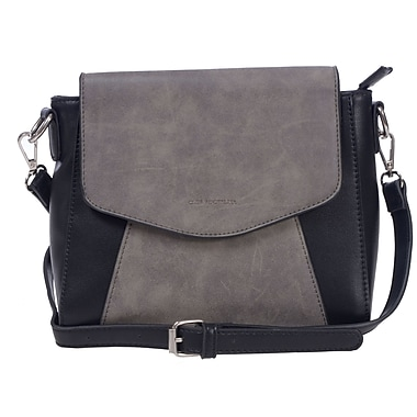 Club Rochelier Rustle Collection, Stone Crossbody (DFCR172-STONE)