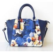 Club Rochelier Floral Design Colleciton, Blue Azure Dome Bag (DFCR32151-BLUE)