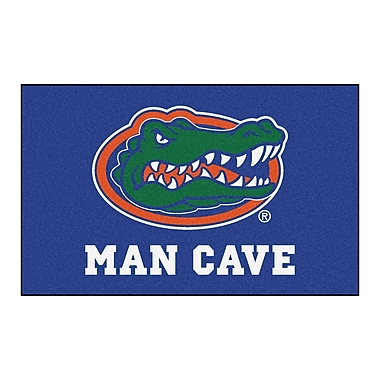 FANMATS Collegiate NCAA University of Florida Man Cave Doormat
