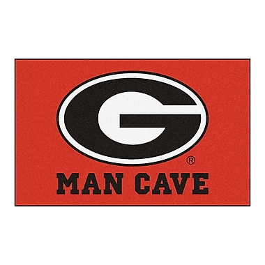 FANMATS Collegiate NCAA University of Georgia Man Cave Doormat