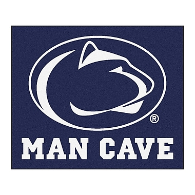 FANMATS NCAA Penn State Man Cave Indoor/Outdoor Area Rug