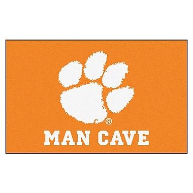 FANMATS Collegiate NCAA Clemson University Man Cave Doormat