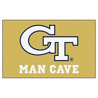 FANMATS Collegiate NCAA Georgia Tech Man Cave Doormat