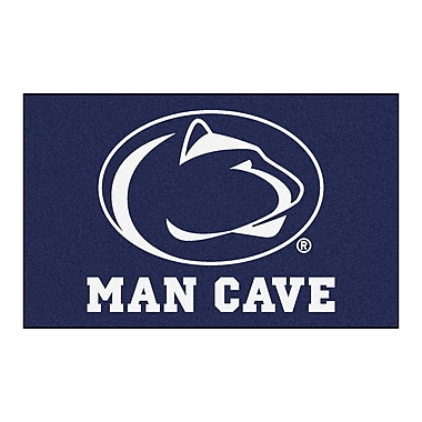FANMATS Collegiate NCAA Penn State Man Cave Doormat