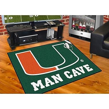 FANMATS NCAA University of Miami Man Cave All-Star