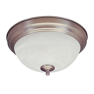 Royal Pacific 13W 2-Light Energy Star Flush Mount
