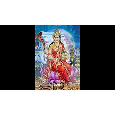 iCanvas 'Hindu' Graphic Art Print on Canvas; 40'' H x 26'' W x 0.75'' D