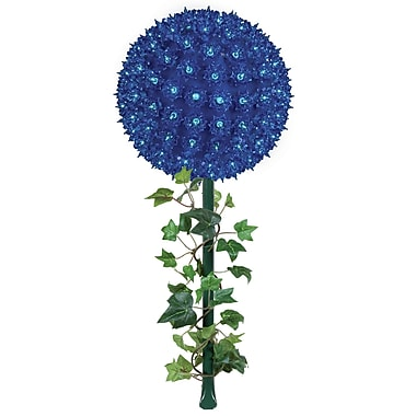 Wintergreen Lighting Starlight Sphere Light on Stake; Blue