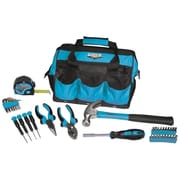 Viper Tool Storage 30 Piece Tool Set w/ Bag; Blue