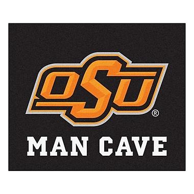 FANMATS NCAA Oklahoma State University Man Cave Indoor/Outdoor Area Rug