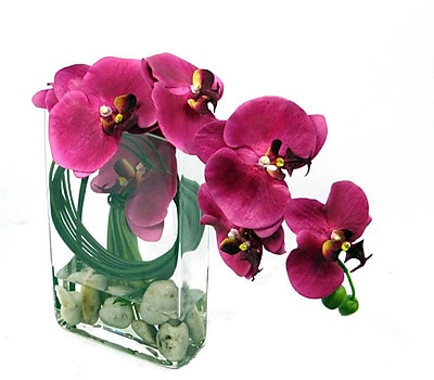 Creative Branch Faux Orchid Arrangement