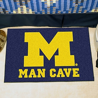 FANMATS NCAA University of Michigan Man Cave Starter
