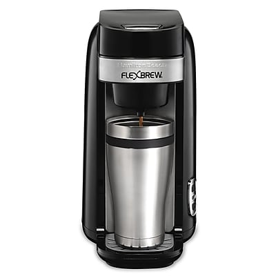 Hamilton Beach FlexBrew Single-Serve Coffeemaker; Black WYF078278918472