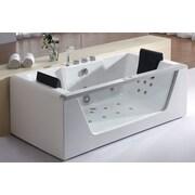 EAGO 71'' x 35'' Whirlpool Bathtub