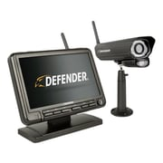 Defender PHOENIXM2 Digital Wireless 7 inch Monitor DVR Security System with Night Vision Camera and SD Card Recording