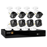 Defender HD 1080p 8 Channel 1TB DVR Security System and 8 Bullet Cameras with Web and Mobile Viewing