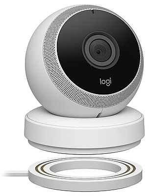 Logitech Circle Home Security Camera, White