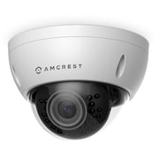 Amcrest ProHD Outdoor 3 Megapixel POE Vandal Dome IP Security Camera - 3MP (2048 TVL), White