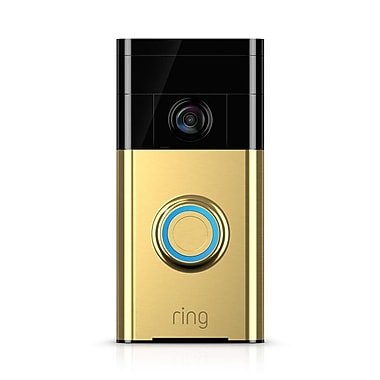 Ring Video Doorbell- Polished Brass
