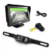 "Pyle Pro Plcm46 4.3"" Monitor & Backup Swivel-Angle Adjustable Camera System With Distance-Scale Lines & Parking Assist"