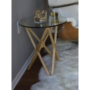 Aeon Furniture Starlight End Table; Ash