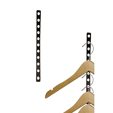 NAHANCO Plastic Display 11 Slot Hanger Strip Organizer (Set of 50)