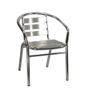 H&D Restaurant Supply, Inc. Stacking Dining Arm Chair