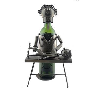 Three Star Chiropractor 1 Bottle Tabletop Wine Rack