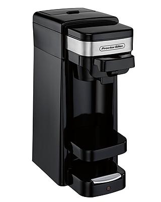 Proctor-Silex Proctor Silex Single Serve Coffee Maker; Black