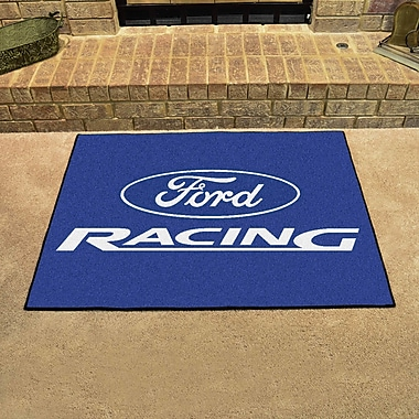 FANMATS Ford - Ford Racing All Star Mat; Blue