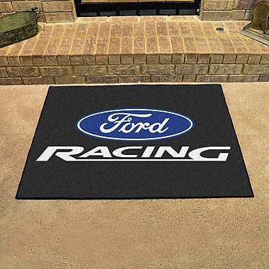 FANMATS Ford - Ford Racing All Star Mat; Black