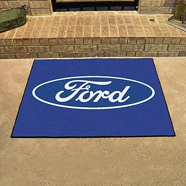 FANMATS Ford - Ford Oval All Star Mat; Blue