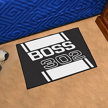FANMATS Ford - Boss 302 Rug; 1'7'' x 2'6''