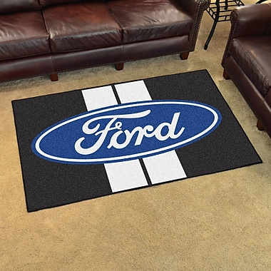 FANMATS Ford - Ford Oval w/ Stripes Tailgater Mat; 1'7'' x 2'6''