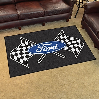FANMATS Ford - Ford Flags Tailgater Mat; 5' x 6'