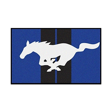 FANMATS Ford - Mustang Horse Tailgater Mat; 1'7'' x 2'6''
