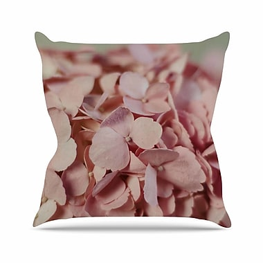East Urban Home Cristina Mitchell Hydrangea Photography Nature Outdoor Throw Pillow