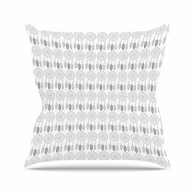 East Urban Home Petit Griffin Dreams Digital Outdoor Throw Pillow; 18'' H x 18'' W x 5'' D