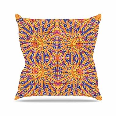 East Urban Home Miranda Mol Azulejo Outdoor Throw Pillow; 18'' H x 18'' W x 5'' D