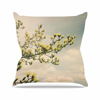 East Urban Home Angie Turner Magnolias Photography Outdoor Throw Pillow; 18'' H x 18'' W x 5'' D