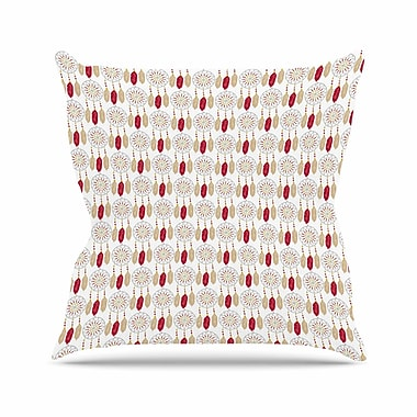 East Urban Home Petit Griffin Dreams in Color Outdoor Throw Pillow; 16'' H x 16'' W x 5'' D