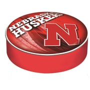 Holland Bar Stool Barstool Cushion Cover; University of Nebraska, Lincoln