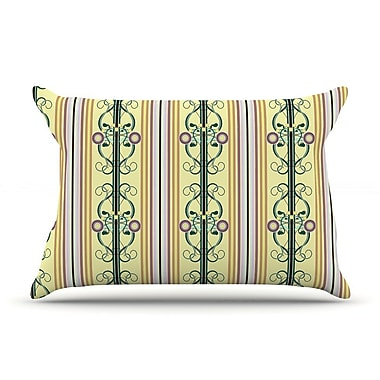 East Urban Home Mydeas 'Blooming Trellis' Pillow Case