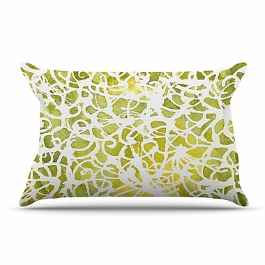 East Urban Home Rosie Brown 'Spiral' Abstract Pillow Case