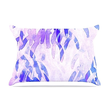 East Urban Home Iris Lehnhardt 'Abstract Leaves Iii' Pillow Case