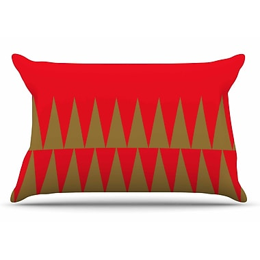 East Urban Home Suzanne Carter 'Christmas 1' Pillow Case