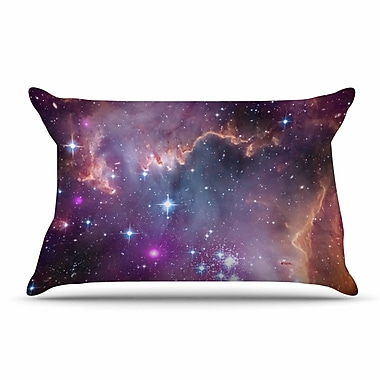 East Urban Home Suzanne Carter 'Cosmic Cloud' Celestial Pillow Case